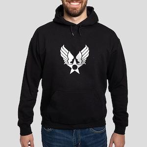 Winged Star Symbol Hoodie (dark)