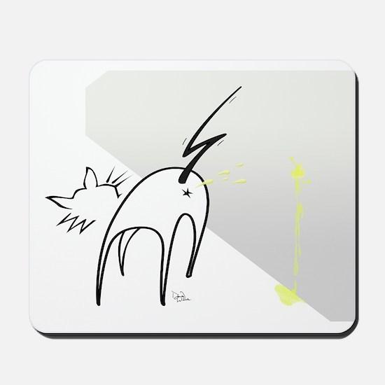 Cat Markings Mousepad