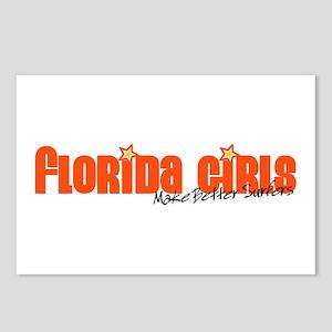 Florida Girls Make Better Surfers Postcards (Packa