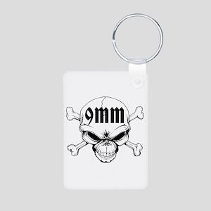 9mm Skull Keychains