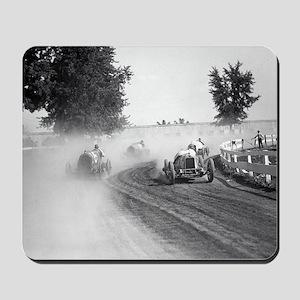 Rockville Fair Auto Races, 1923  Mousepad