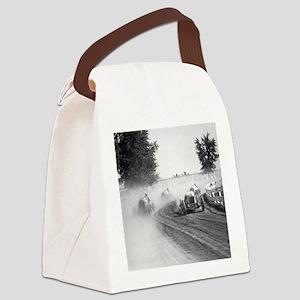 Rockville Fair Auto Races, 1923  Canvas Lunch Bag