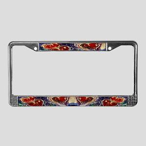 Hearts Adrift License Plate Frame