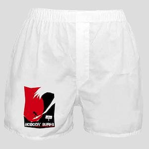 Nobody Surfs Like a Florida Girl Boxer Shorts