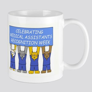 Medical Assistants recognition week. Mugs