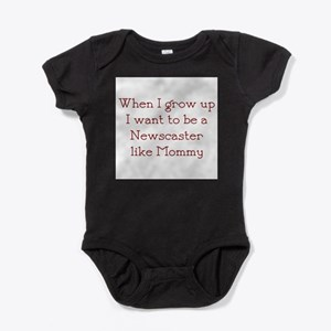 I Want To Be A Newscaster Infant Bodysuit Body Sui