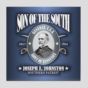 Joseph E Johnston (SOTS2) Tile Coaster