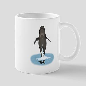 Pilot Whale Jumping Mugs