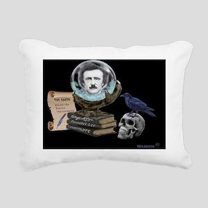 SPIRIT OF EDGAR ALLAN PO Rectangular Canvas Pillow