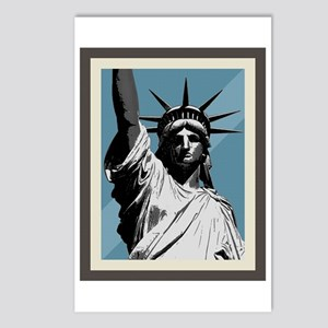 Lady Liberty Postcards (Package of 8)