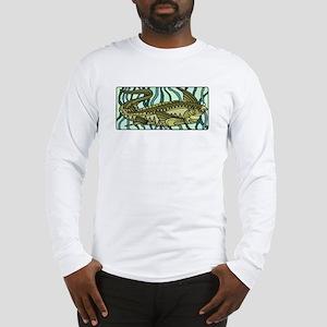 Green Oar Fish Long Sleeve T-Shirt