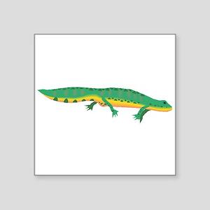 Green Newt Sticker