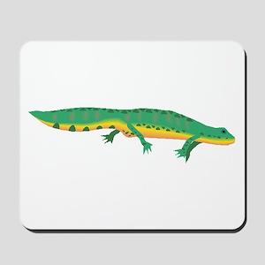 Green Newt Mousepad