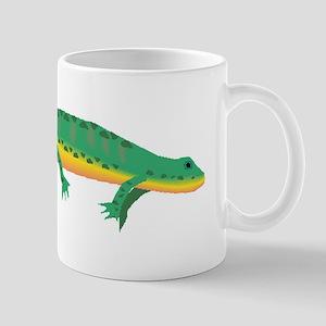 Green Newt Mugs