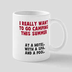 Camping this summer Mug