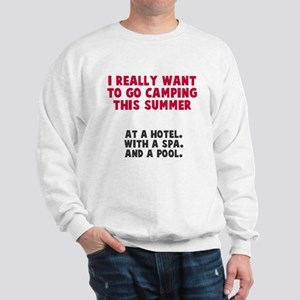 Camping this summer Sweatshirt
