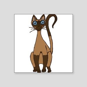 Sassy Siamese KwazyKatz Sticker