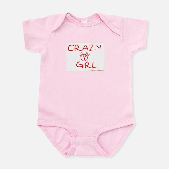 Crazy Girl Infant Bodysuit