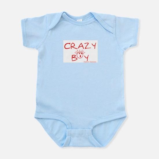 Crazy Boy Infant Bodysuit