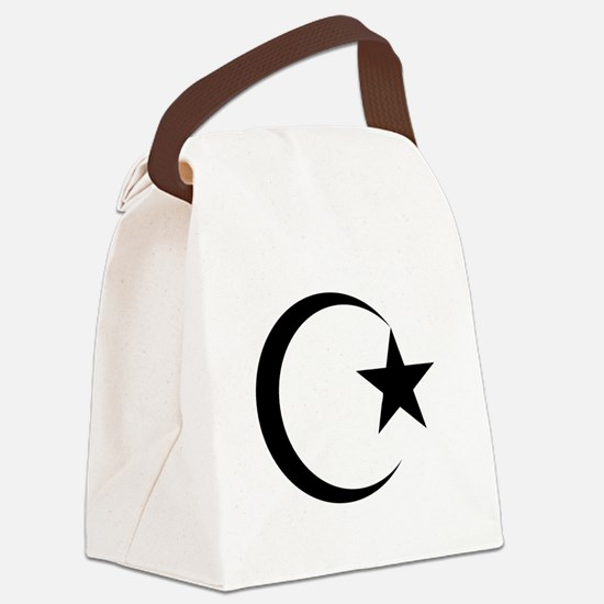 Funny Islamic Canvas Lunch Bag