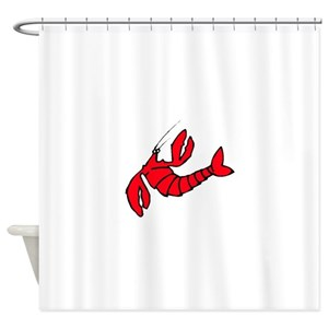 Red Lobster Shower Curtains