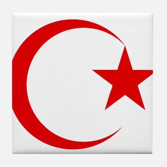 Cute Islam Tile Coaster