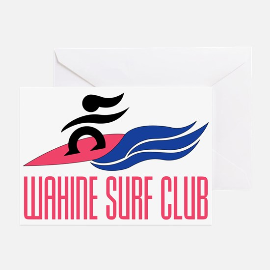 Wahine Surf Club Greeting Cards (Pk of 10)