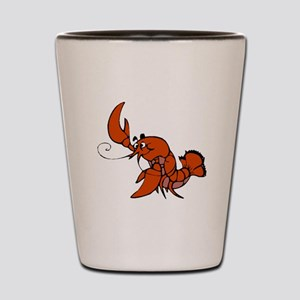 Red Lobster Shot Glass