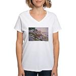 17 Mile Drive Women's V-Neck T-Shirt