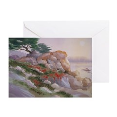 17 Mile Drive Greeting Cards (Pk of 10)