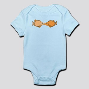 Kissing Fish Body Suit
