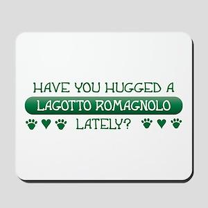 Hugged Lagotto Mousepad