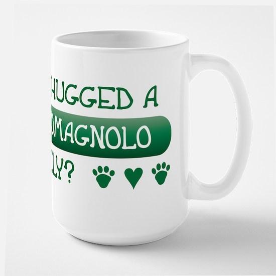 Hugged Lagotto Large Mug