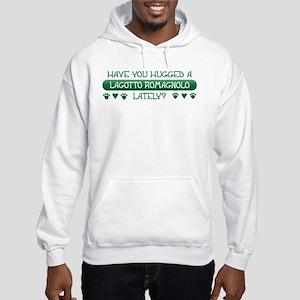 Hugged Lagotto Hooded Sweatshirt