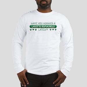 Hugged Lagotto Long Sleeve T-Shirt