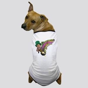 Me Lucky rainbow Trout Dog T-Shirt