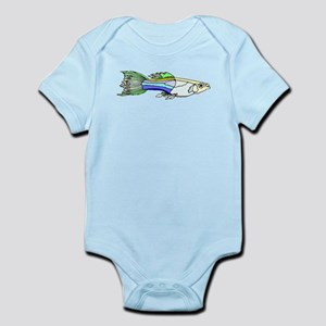 Colorful Guppy Fish Body Suit