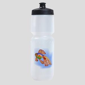 Colorful Betta Fish Sports Bottle