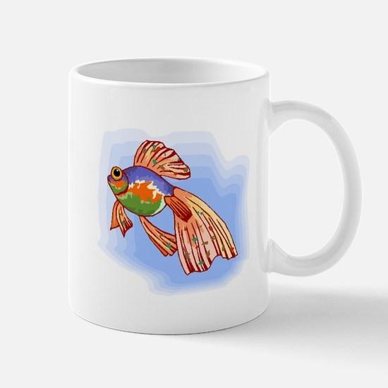 Colorful Betta Fish Mugs