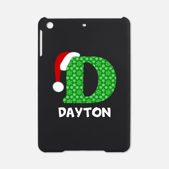 Christmas Letter D Monogram iPad Mini Case