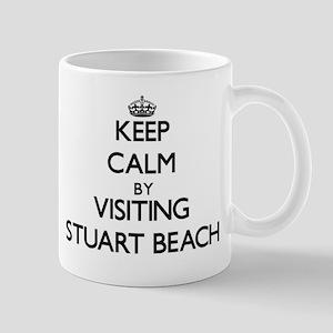 Keep calm by visiting Stuart Beach Florida Mugs