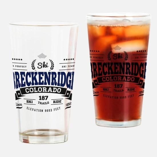 Breckenridge Vintage Drinking Glass