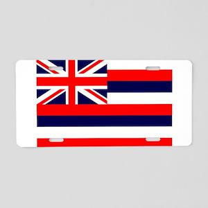 Hawaii State Flag Aluminum License Plate