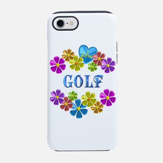 I Love Golf iPhone 7 Tough Case