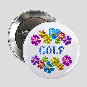 "I Love Golf 2.25"" Button"