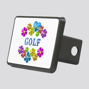 I Love Golf Rectangular Hitch Cover