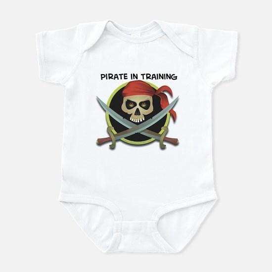 pirate in training Infant Bodysuit