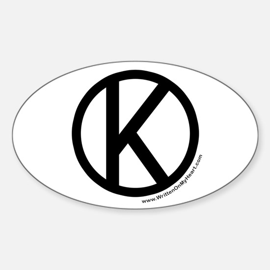 """Kosher"" Oval Decal"