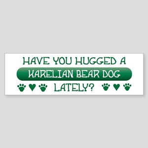 Hugged Karelian Bumper Sticker