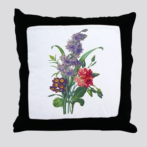Redoute - Hyacinth, Bear Ears and Eye Throw Pillow